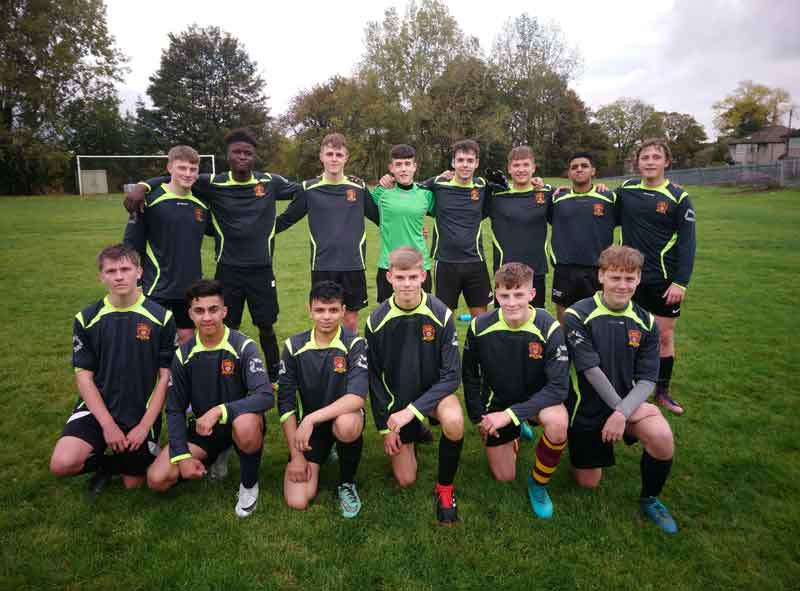 MIRFIELD COLLEGE FOOTBALL TEAM KICKS OFF THE EFSA COLLEGE CUP WITH A WIN!